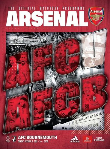Arsenal v AFC Bournemouth - League - 06.10.19