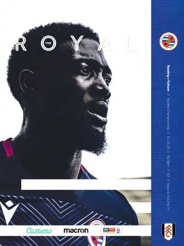 Reading v Fulham - League - 01.10.19