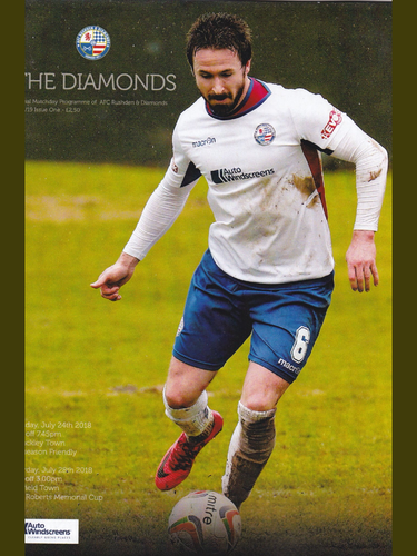 AFC Rushden & Diamonds v Brackley Town / Enfield Town - Friendly - 24.07.18 / 28.07.18