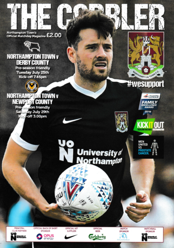 Northampton Town v Derby County / Newport County - Friendly - 25.07.17 / 29.07.17