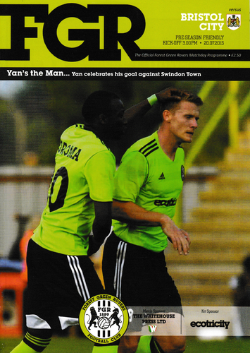 Forest Green Rovers v Bristol City - League - 20.07.13