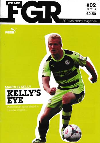Forest Green Rovers v Aston Villa - Friendly - 22.07.15