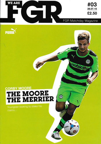 Forest Green Rovers v WBA - Friendly - 28.07.15
