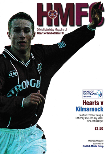 Heart of Midlothian v Kilmarnock - League - 26.02.00
