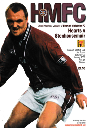 Heart of Midlothian v Stenhousemuir - Scottish Cup - 29.01.00