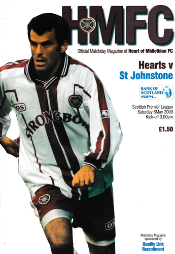 Heart of Midlothian v St Johnstone - League - 06.05.00