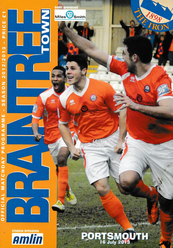 Braintree Town v Portsmouth - Friendly - 16.07.13
