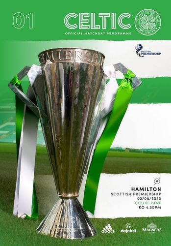 Celtic v Hamilton Academical - League - 02.08.20
