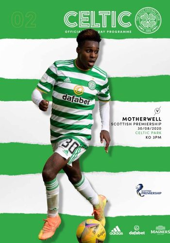 Celtic v Motherwell - League - 29.08.20