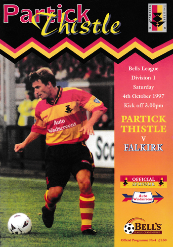 Partick Thistle v Falkirk - League - 04.10.97