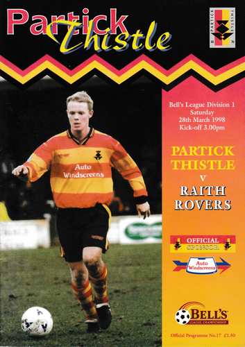 Partick Thistle v Raith Rovers - League - 28.03.98