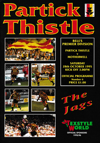 Partick Thistle v Motherwell - League - 28.10.95