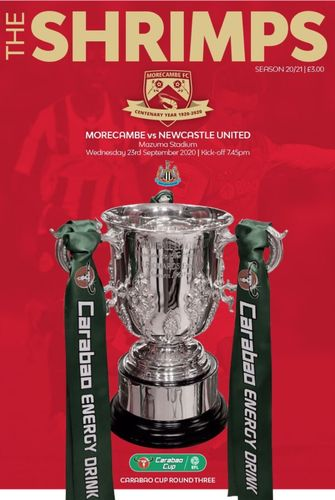 Morecambe v Newcastle United - EFL Cup - 23.09.20