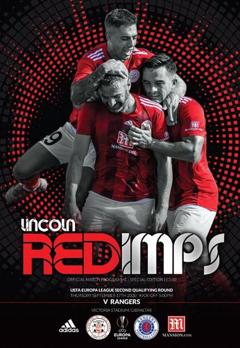 Lincoln Red Imps v Rangers - Europa League - 17.09.20
