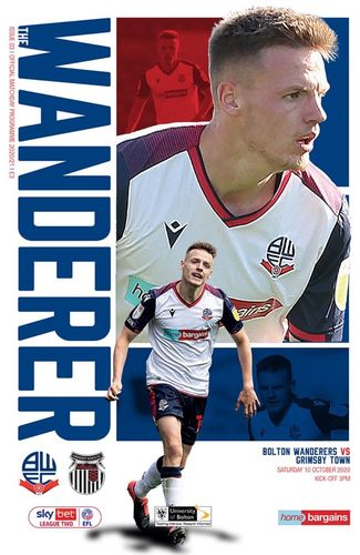 Bolton Wanderers v Grimsby Town - League - 10.10.20