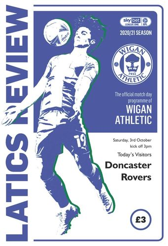 Wigan Athletic v Doncaster Rovers - League - 03.10.20