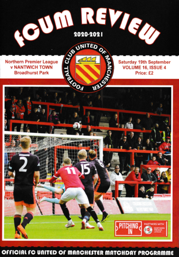 FC United of Manchester v Nantwich Town - League - 19.09.20