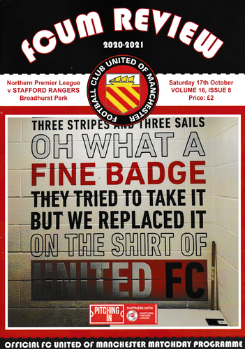 FC United of Manchester v Stafford Rangers - League - 17.10.20