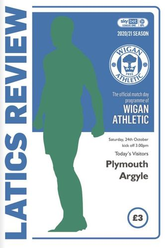 Wigan Athletic v Plymouth Argyle - League - 24.10.20