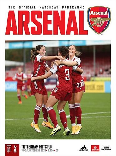 Arsenal Women v Tottenham Hotspur Women - League - 18.10.20