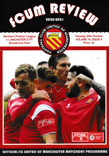 FC United of Manchester v Lancaster City - League - 20.10.20