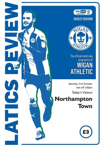 Wigan Athletic v Northampton Town - League - 31.10.20