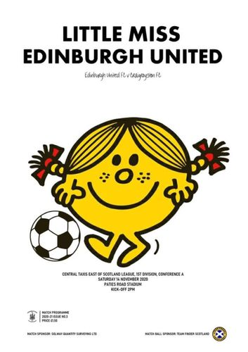 Edinburgh United v Craigroyston - League - 14.11.20