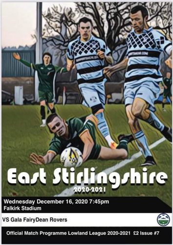 East Stirlingshire v Gala Fairydean Rovers - League - 16.12.20