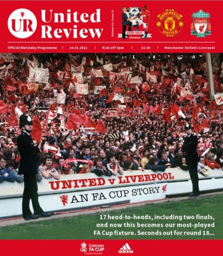 Manchester United v Liverpool - FA Cup - 24.01.21